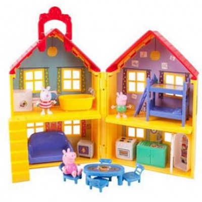 Peppa's Deluxe House Play Set W/ 3 Figures Just $26.83 (Reg $40.00) + Free Pickup
