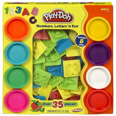 Play-Doh Numbers, Letters N' Fun Just $5.99 (Reg $11.99) as Prime Add-On