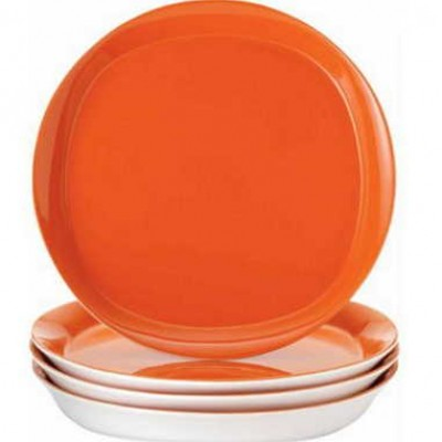 Rachael Ray Round and Square Dinner Plates, 4-PC Just $9.99