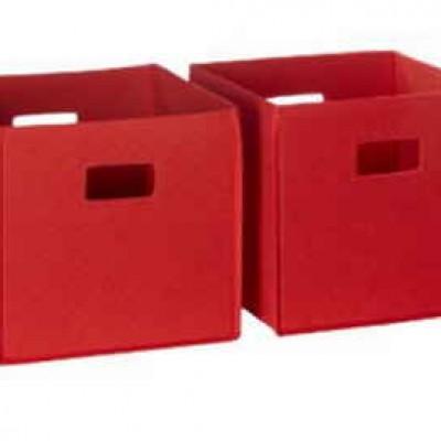 RiverRidge Soft Storage Bins 2-Pc Just $9.79 (Reg $21.99) + Prime