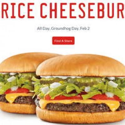 Sonic: Half Price Cheeseburgers - All Day Feb 2nd