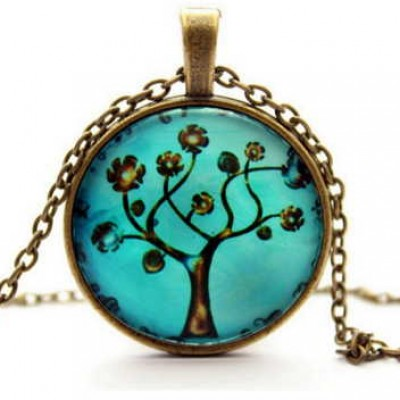 Tree of Life Pendant & Necklace Only $5.39 + Free Shipping