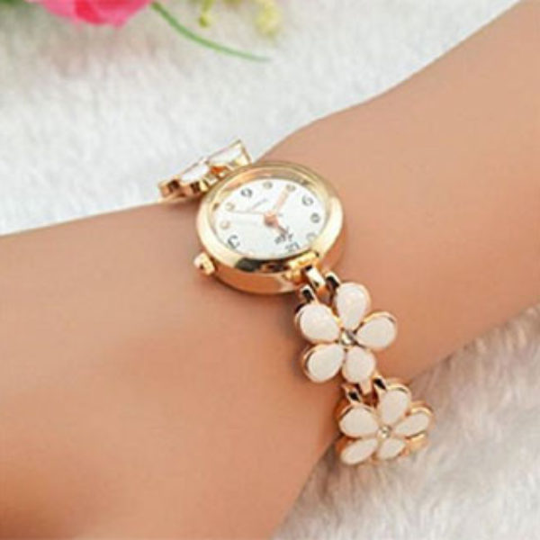 Bessky Women's Flowers Watch Only $4.50 + Free Shipping