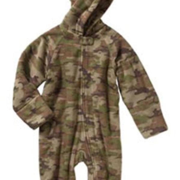 Healthtex Newborn Baby Boy Fleece Eared Pram Only $2.80 (Reg $11.97) + Free Store Pick-Up