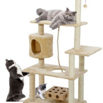 Furhaven Pet Tiger Tough Deluxe Cat Tree Tower Only $63.88 (Reg $169.99) + Prime