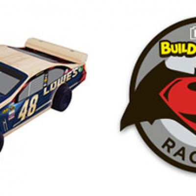 Lowe's Build And Grow: Free Jimmie Johnson Pullback Car