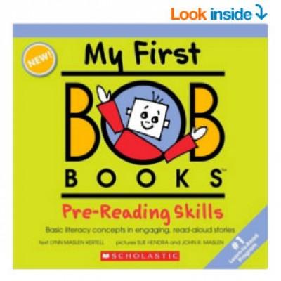My First BOB Books: Pre-Reading Skills $9.60 (Reg $16.99)+ Prime