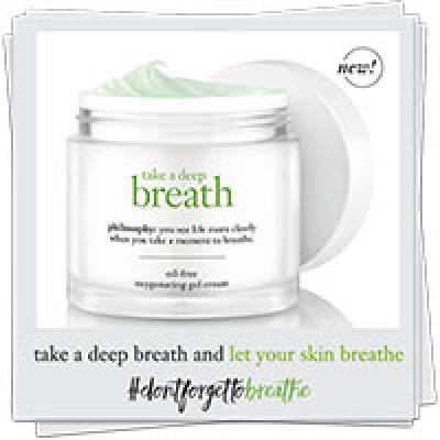 Free Philosophy Oxygenating Gel Cream Sample