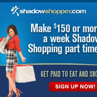 Shadow Shopper: Get Paid to Eat & Shop