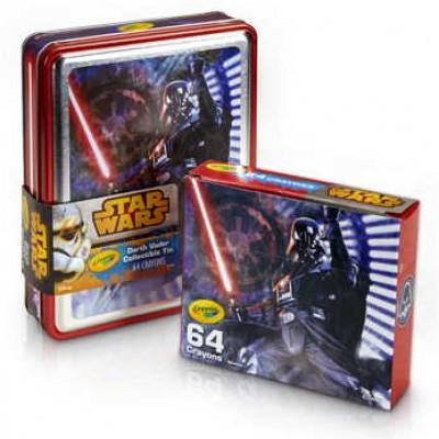 Star Wars Collectible Tin + 64-Count Crayola Crayons Just $7.59 (Reg $15.59) + Prime