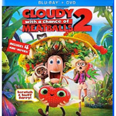 Cloudy with a Chance of Meatballs 2 Blu-ray & DVD Just $9.99 (Reg $19.99)