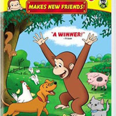 Curious George Makes New Friends DVD Just $3.99 + Prime