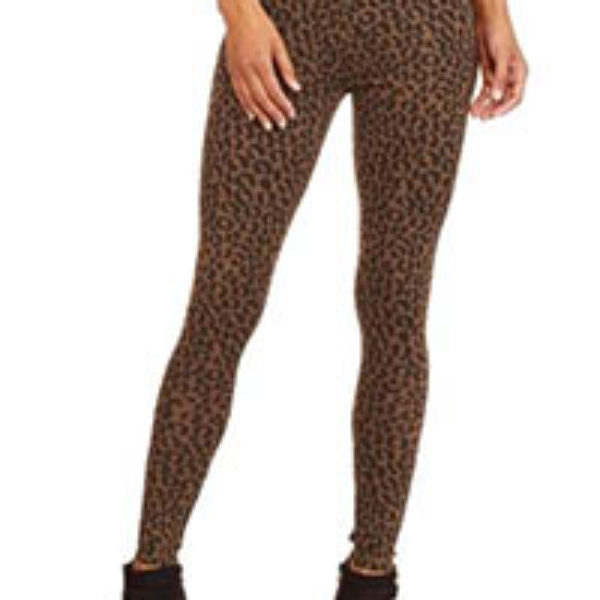 Faded Glory Women's Cheetah Print Legging Only $2.50 (Reg $6.94) + Free Pick Up