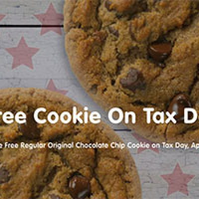 Great American Cookies: Free Cookie on Tax Day