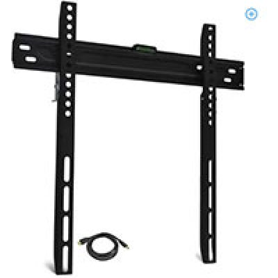 "Low-Profile TV Wall Mount for 19""-60"" TVs Only $9.99 (Reg $40.00)"