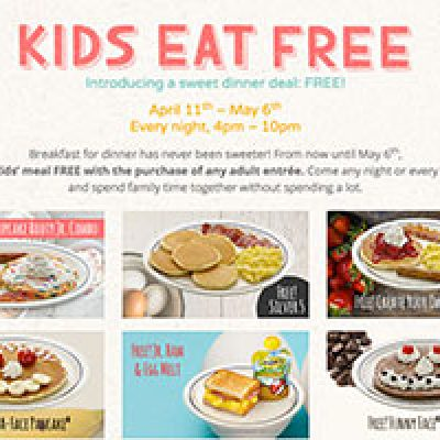 IHOP: Kid's Eat Free w/ Adult Purchase