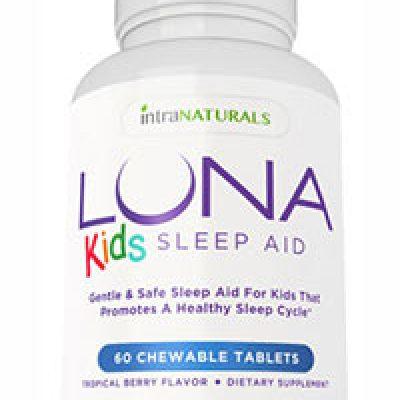 Free Luna Kids Sleep Aid Bottle
