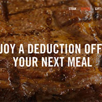 Outback Steakhouse: 15% Off Entire Check