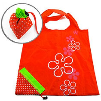 Strawberry Reusable Shopping Bag Only $1.68 + Free Shipping
