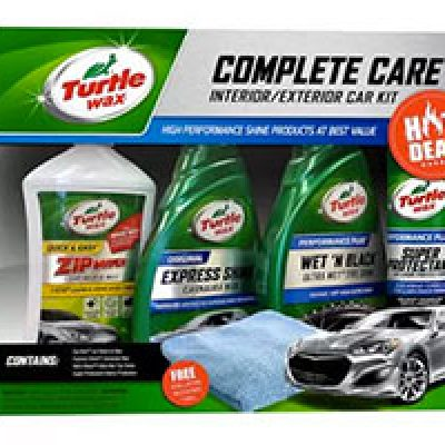 Turtle Wax 5-Piece Complete Care Kit Only $5.99 (Reg $11.88) + Free Pickup