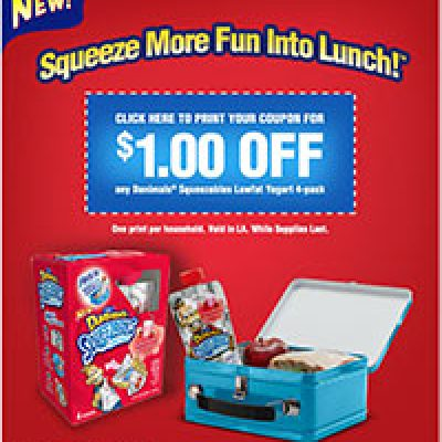 Danimals Squeezables Coupon