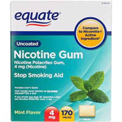 Equate Nicotine Gum or Lozenge Coupon