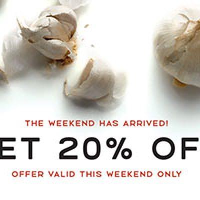Macaroni Grill: 20% Off Weekend