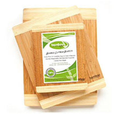 3-Piece Bamboo Cutting Boards Set Just $15.97 + Prime