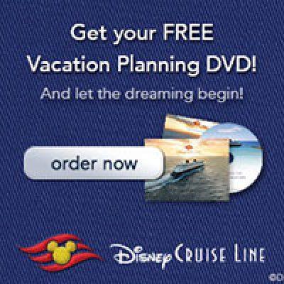 Disney Cruise Planning DVD