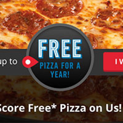 Dominos: Win Free Pizza For A Year