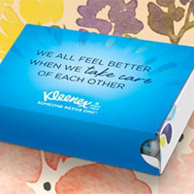 Send a Free Kleenex Care Pack
