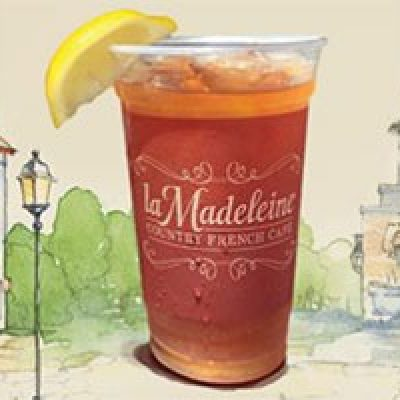 la Madeleine Cafe: Free Iced Tea - Today Only