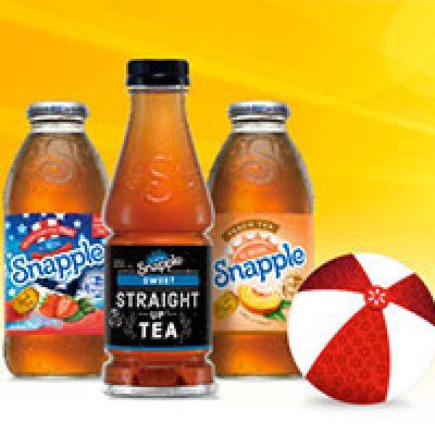 Free Snapple: June 10th