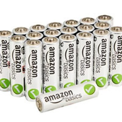 AmazonBasics AA Batteries 20-Pack Just $7.68 + Prime