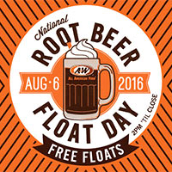 A&W: Free Root Beer Float - Aug 6th