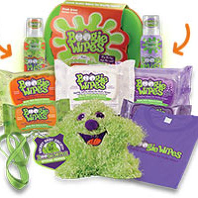Win a Boogie Wipes Save The Sleeve Kit