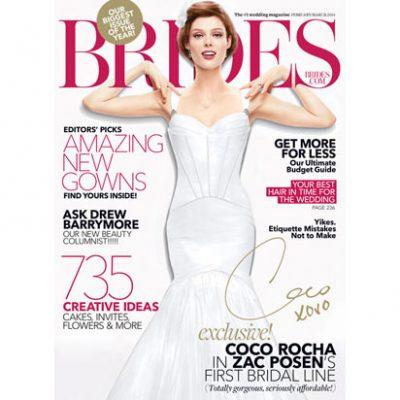 Free Subscription: Brides Magazine
