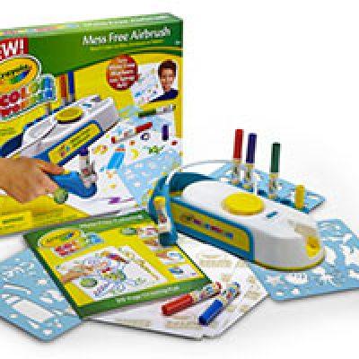 Crayola Mess-Free Airbrush Kit Only $5.00 + Free Store Pickup
