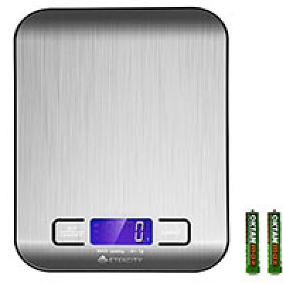 Digital Stainless Steel Kitchen Food Scale Only $10.88 + Prime