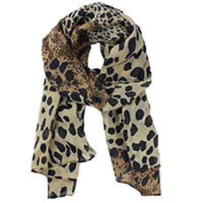 Leopard Pattern Shawl Only $4.19 + Free Shipping