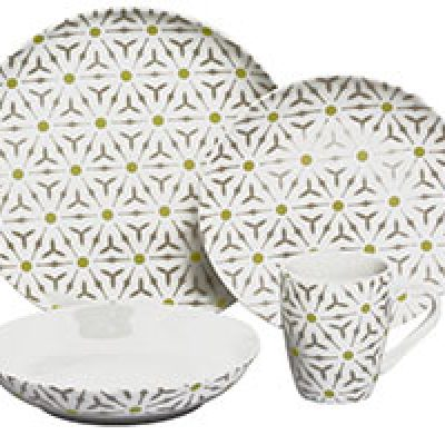 Melange 32-Piece Dinnerware Set Just $52.17 + Prime