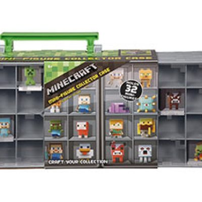 Minecraft Mini Figure Collector Case Only $9.99 (Reg $21.99) + Prime