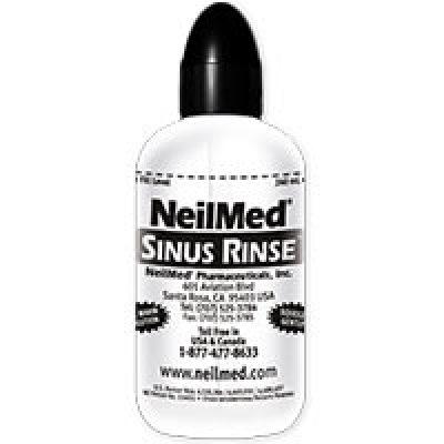 Free NeilMed Sinus Rinse Bottle & Packet