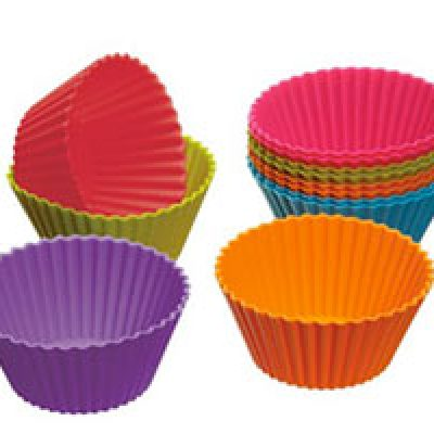 Silicone Cupcake Cups 12-Piece Set Only $1.74 + $1Shipping