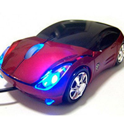 Car Shaped USB Wired Optical Mouse Just $3.05 + Free Shipping