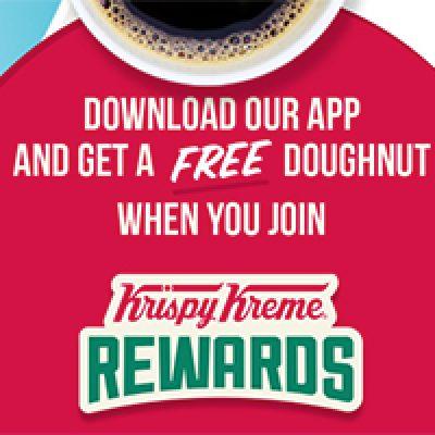Krispy Kreme: Free Doughnut W/ App Download