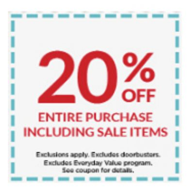 Michael's: 20% Off Entire Purchase