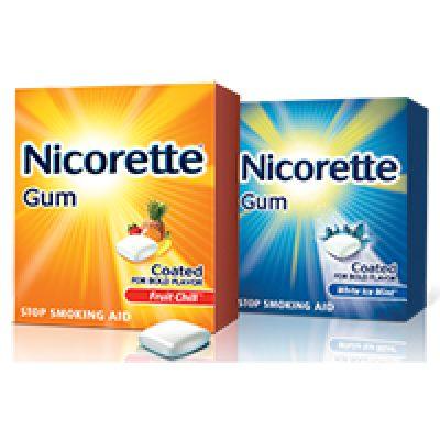 Nicorette and NicoDerm Coupon