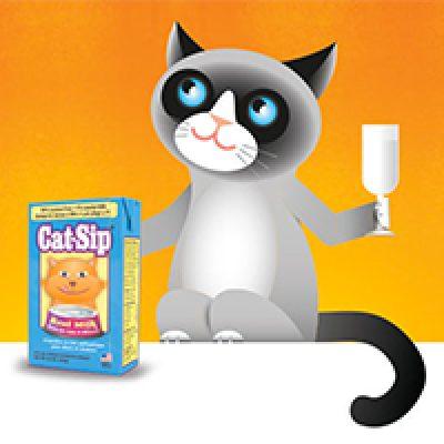 Free Cat-Sip Lactose-Free Milk Samples