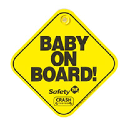 Free Baby On Board Sign
